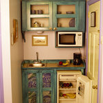 Kitchenette in Down The Islands