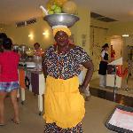 Cartagena, Colombia, desayuno en hotel Capilla del Mar
