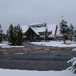 Snowy Snow Lodge in late May