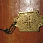Room key reminds of hotel's history
