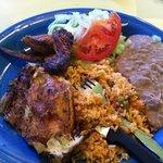 Quarter Chicken Plate - White Meat