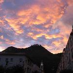 Cassino sunset