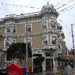 Gorgeously restored Victorian at the corner of Stanyan and Haight Streets