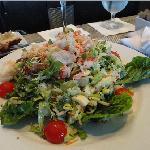 King Crab Salad, with Green Goddess Dressing