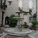 A Water Fountain in Vence