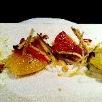 beet and apple appetizer
