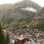 Viiew of Zermatt from the Cervo
