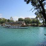 Boat on Manavgat river