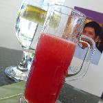 Welcome! Chilled Watermelon juice