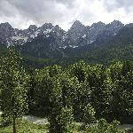 View from deluxe rooms, Spik 4* alpine wellness resort