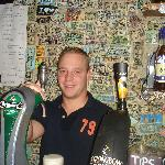 Alan, one of the Bartenders at O'Gradys