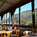 Stunning views to enjoy at breakfast, lunch or dinner