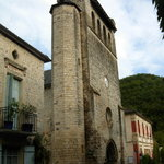 The bell-tower in Castelfranc.