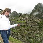 My daughter Fernanda, in Machu Picchu, Peru