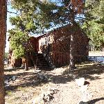 outside of cabin 3e