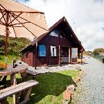 Luxury lodges available