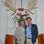 hein and conny at theexcellent  geronimo restaurant