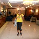 Lobby de l'hotel Tugcu