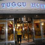 Entrée de l'hôtel Tugcu