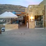 Uniquely situated on the water`s edge of the picturesque Dwejra inland sea, our restaurant is re
