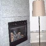 Fireplace too
