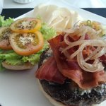 Bacon Truffle Burger