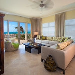 Gorgeous oceanfront living room area