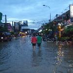 Flooded Pub Street!