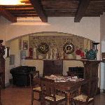 Lobby of Hotel Al Grappolo d'Oro