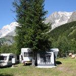 Photo de Camping Grandes Jorasses