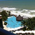 view from our room 625