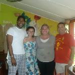 con Rita y Martin