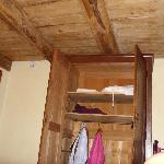 Wardrobe and ceeiling