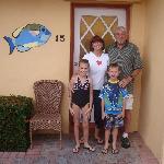 Grandma & Grandpa and the two oldest Florida grandkids