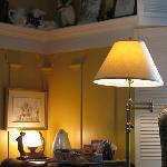 Decor in Sitting Room