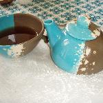 Their tea cup and mug