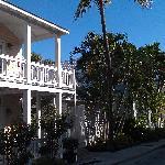 Multiple Douglas House Facades on Amelia Street