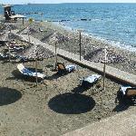 beach/garden area
