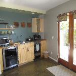 A convenience kitchenette