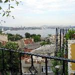 View of the Marmara Sea from the rooftop