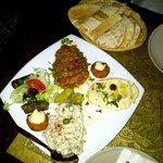 The Mezze is good