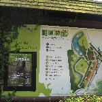 Le plan du parc zoologique de Lille