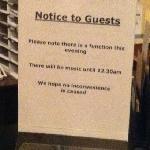 si queréis descansar, no vengáis a este hotel