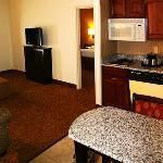 King Bed Kitchen Suite Living Room & Kitchen