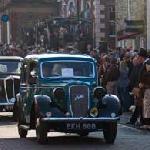 Wartime parade