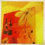 Hipstamatic shot - Saffrons framed wall print