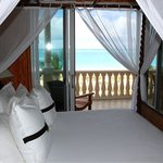 View from bedroom of 2nd floor suite