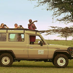 guests on game drive