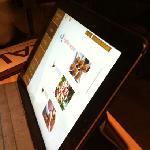 menú iPad