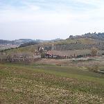 Tuscan countryside surrounding Agrituristica Cafaggio